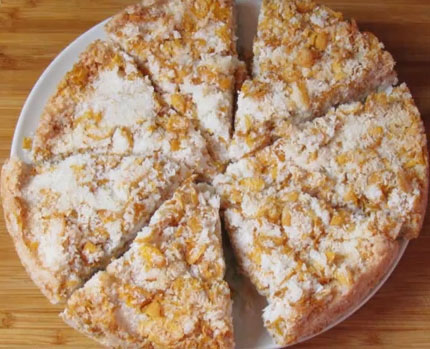 Ecstasy cornflake slice
