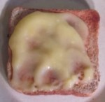 Lemon butter spread on toast