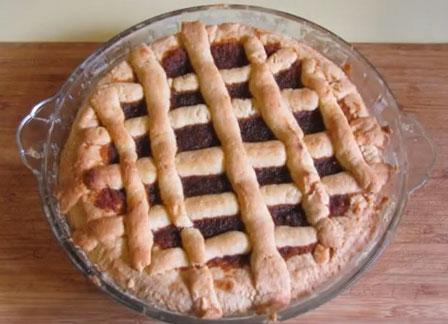 My Mum's treacle tart